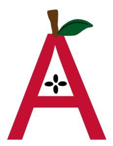 Actividades con la letra A - manualidades para niños en edad preescolar - amorecraftylife.com