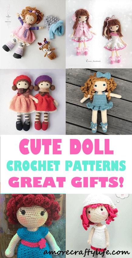 Doll Crochet Toy PDF Dave Aviator Crochet Pattern DIY tutorial