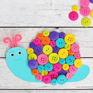 Faça artesanato infantil colorido e divertido - acraftylife.com #kidscrafts #craftsforkids #pré-escola