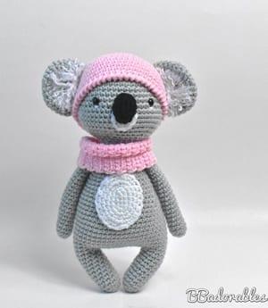 patrones crochet koala- - amigurumi amorecraftylife.com #crochet #crochetpattern #diy