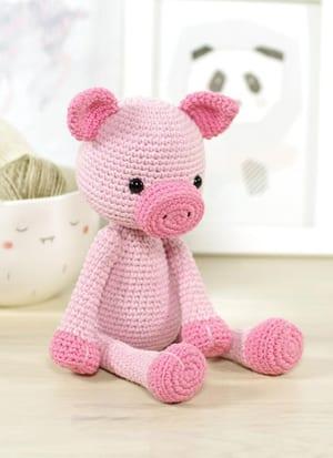 patrón de cochinillo de ganchillo - cerdo de peluche patrón de ganchillo pdf - amigurumi acraftylife.com #crochet #crochetpattern