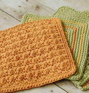 patrones de ganchillo de paño de cocina de ganchillo gratis -amorecraftylife.com #crochet #crochetpattern #diy #freecrochetpattern
