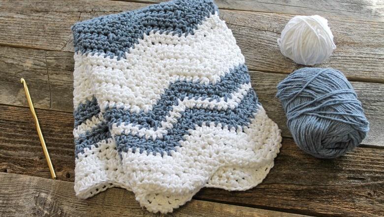 Padrão de pano de prato de crochê de crochê para impressão gratuita -amorecraftylife.com #crochet #crochetpattern #diy #freecrochetpattern