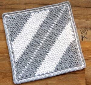 patrones de ganchillo de paño de cocina gratis -amorecraftylife.com #crochet #crochetpattern #diy #freecrochetpattern