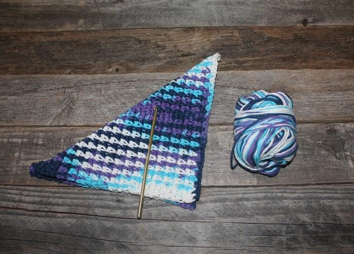 Padrão de pano de prato de ponto de musgo para impressão gratuita para impressão -amorecraftylife.com #crochet #crochetpattern #diy #freecrochetpattern